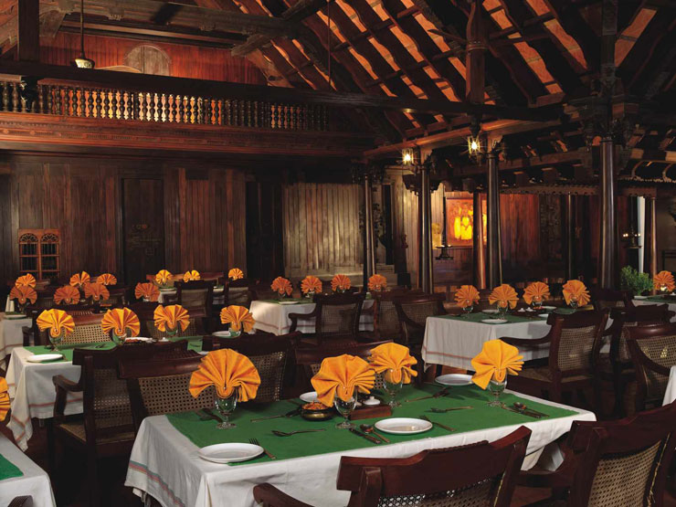 Kumarakom Lake Resort Bangalore Restaurant